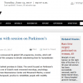 parkinson' disease event uae dubai
