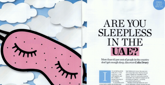 Are you sleepless in the UAE?