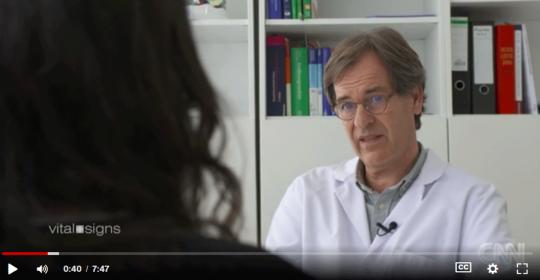 CNN – Maha and Dr Manio talk about Multiple Sclerosis in Dubai