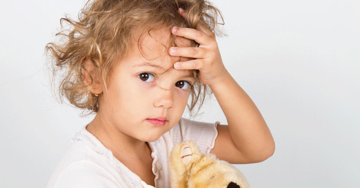 Головная боль при температуре у ребенка